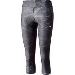 Bryczesy damskie: Mizuno Spodnie Do Biegania Lotus 3/4 Tights Black Xs