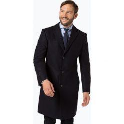 HUGO - Płaszcz męski – Miratus1841, niebieski. Brązowe płaszcze na zamek męskie marki Cropp, na zimę, l, sportowe. Za 999,95 zł.