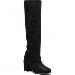 Kozaki L37 - Walking On Air SS75 Black. Czarne buty zimowe damskie L37, z materiału, przed kolano, na wysokim obcasie. Za 889,00 zł.