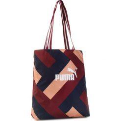Torebka PUMA - Wnn Core Shopper 075398 03 Pomegranate Graphic. Czerwone shopper bag damskie Puma, z materiału. Za 99,00 zł.