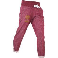 Spodnie sportowe damskie: Spodnie sportowe, długość 7/8 bonprix czerwony rododendron melanż