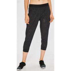 Under Armour - Legginsy TB Balance Mesh Loose Crop. Szare spodnie sportowe damskie Under Armour, s, z dzianiny. W wyprzedaży za 199,90 zł.