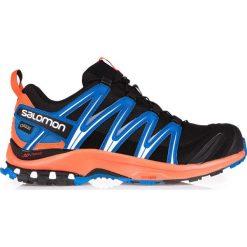 Buty sportowe męskie: Salomon Buty męskie XA Pro 3D GTX Black/Flame/Nautical Blue r. 46 2/3 (393317)