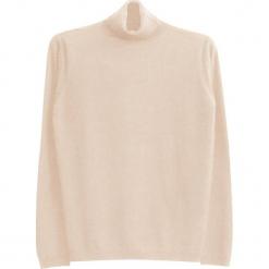 Sweter kaszmirowy w kolorze kremowym. Białe golfy męskie marki Ateliers de la Maille, m, z kaszmiru. W wyprzedaży za 545,95 zł.
