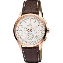 Zegarek kwarcowy w kolorze brązowo-biało-złotym. Brązowe, analogowe zegarki damskie Esprit Watches, ze stali. W wyprzedaży za 227,95 zł.