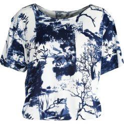 T-shirty damskie: Niebieski T-shirt Wallpaper