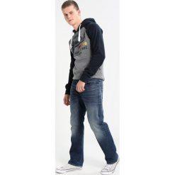 GStar Jeansy Straight Leg finch stretch denim. Szare jeansy męskie marki G-Star. W wyprzedaży za 503,10 zł.