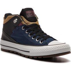 Trampki CONVERSE - Ctas Street Boot Hi 161471C Navy/Black/University Gold. Niebieskie tenisówki męskie Converse, z gumy. W wyprzedaży za 279,00 zł.