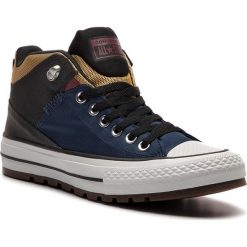 Trampki CONVERSE - Ctas Street Boot Hi 161471C Navy/Black/University Gold. Niebieskie tenisówki męskie Converse, z gumy. Za 369,00 zł.