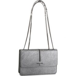 Torebka PATRIZIA PEPE - 2V8169/AA94-S535 Dark Silver. Czarne torebki klasyczne damskie marki Patrizia Pepe, ze skóry. W wyprzedaży za 939,00 zł.