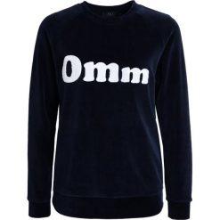 YUJ VELVET OMM Bluza dark blue. Niebieskie bluzy damskie YUJ, m, z bawełny. Za 499,00 zł.