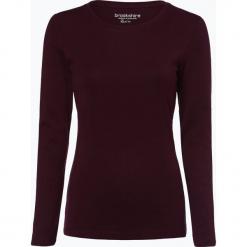 Brookshire - Damska koszulka z długim rękawem, czerwony. Czarne t-shirty damskie marki brookshire, m, w paski, z dżerseju. Za 49,95 zł.