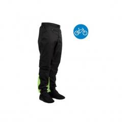 Ochraniacze na spodnie na rower miejskie 900. Czarne odzież rowerowa męska B'TWIN, xl. Za 99,99 zł.
