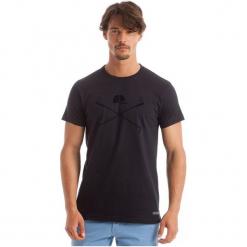 Polo Club C.H..A T-Shirt Męski L Ciemnoniebieski. Brązowe koszulki polo marki Polo Club C.H..A, l, z bawełny. W wyprzedaży za 119,00 zł.