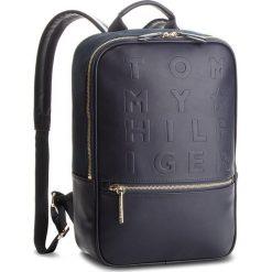 Plecak TOMMY HILFIGER - Logo Story Backpack AW0AW04942 413. Niebieskie plecaki męskie TOMMY HILFIGER. Za 649,00 zł.