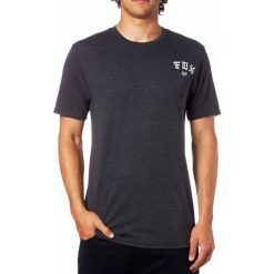 T-shirty męskie: FOX T-Shirt Męski Exiler Ss Tech M Czarny