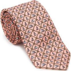 Krawat 87-7K-001-X1. Różowe krawaty męskie marki Reserved. Za 149,00 zł.