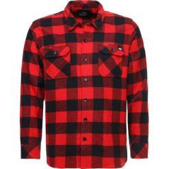 Dickies SACRAMENTO Koszula red. Szare koszule męskie marki Dickies, na zimę, z dzianiny. Za 219,00 zł.