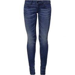 GStar LYNN MID SKINNY  Jeans Skinny Fit frakto supertretch. Niebieskie jeansy damskie marki G-Star, z bawełny. Za 459,00 zł.
