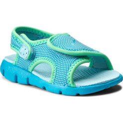 Sandały NIKE - Sunray Adjust 4 (TD) 386521 404 Still Blue/Chlorine Blue. Niebieskie sandały chłopięce Nike, z materiału. Za 109,00 zł.