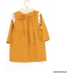 Sukienki dziewczęce: Sukienka z koronka ecru