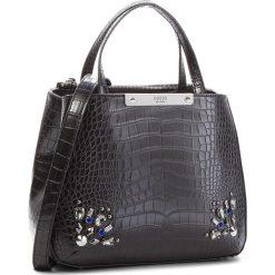 Torebka GUESS - HWCR66 93050 Black. Czarne torebki klasyczne damskie Guess, z aplikacjami, ze skóry ekologicznej. Za 629,00 zł.