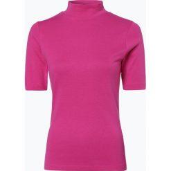 Brookshire - Koszulka damska, lila. Czarne t-shirty damskie marki brookshire, m, w paski, z dżerseju. Za 59,95 zł.