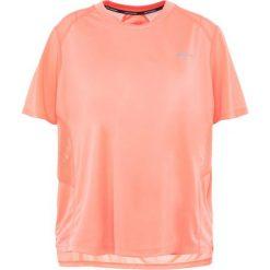 Nike Performance DRY MILER Tshirt basic crimson pulse. Brązowe t-shirty damskie marki Nike Performance, z materiału. Za 129,00 zł.