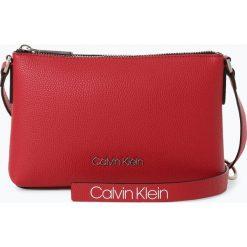 Calvin Klein Womenswear - Torebka damska, czerwony. Czerwone torebki klasyczne damskie Calvin Klein Womenswear, w paski. Za 449,95 zł.