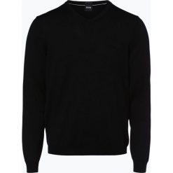 BOSS - Sweter męski – Baram-L, czarny. Czarne swetry klasyczne męskie Boss, l, z dzianiny. Za 499,95 zł.