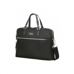 "Samsonite Karissa BIZ 15.6"" czarna. Czarne torby na laptopa marki Samsonite, z materiału. Za 579,00 zł."