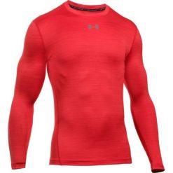 Under Armour Sportowa Koszulka Cg Armour Twist Crew Red Graphite L. Czerwone koszulki do fitnessu męskie marki Under Armour, l, z długim rękawem. W wyprzedaży za 179,00 zł.
