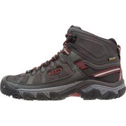 Keen TARGHEE MID WP Buty trekkingowe raven/fried brick. Szare buty trekkingowe męskie Keen, z materiału, outdoorowe. Za 499,00 zł.