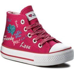Trampki dziewczęce: Trampki NELLI BLU – C1886037S-1 Różowy Ciemny