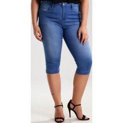 Bermudy damskie: Zizzi EMILY Szorty jeansowe light blue denim