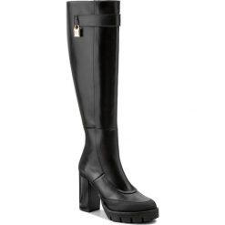 Kozaki PATRIZIA PEPE - 2V7276/A2YN-K103 Nero. Czarne buty zimowe damskie marki Patrizia Pepe, ze skóry. W wyprzedaży za 1069,00 zł.