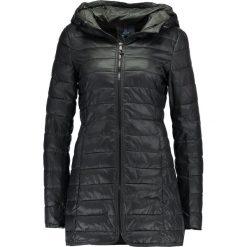 Płaszcze damskie: ONLY ONLTAHOE HOODED  Krótki płaszcz black/phantom