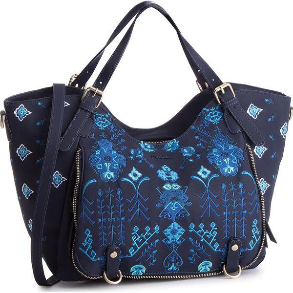 c26fe6c4282cd Torebka DESIGUAL - 18SAXPAI 5000 - Niebieskie torebki klasyczne ...
