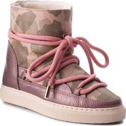 Buty INUIKII - Sneaker 70202-17 Camouflage Met/ Old Pink. Czerwone buty zimowe damskie Inuikii, ze skóry. Za 1309,00 zł.