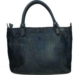 Torba - 4-LAV61-O BLU. Żółte torebki klasyczne damskie Venezia, ze skóry. Za 499,00 zł.