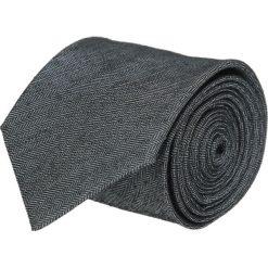 Krawaty męskie: krawat cotton grafit classic 200