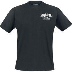 Brutal Knack Fear is Temporary T-Shirt czarny. Czarne t-shirty męskie z nadrukiem Brutal Knack, xxl, z bawełny, z dekoltem na plecach. Za 80,99 zł.