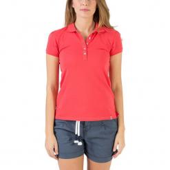Koszulka polo w kolorze czerwonym. Czerwone bluzki damskie Timezone, xs, polo. W wyprzedaży za 68,95 zł.