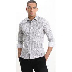 Koszule męskie na spinki: Burton Menswear London FEATHER Koszula white