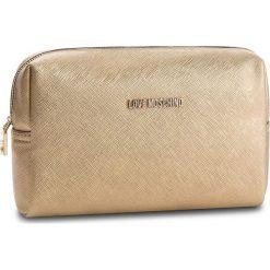 Kosmetyczka LOVE MOSCHINO - JC5390PP06LQ0901  Oro. Żółte kosmetyczki męskie marki Love Moschino, ze skóry ekologicznej. Za 229,00 zł.
