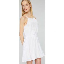Seafolly - Sukienka. Szare sukienki mini marki Seafolly, l, z bawełny, na ramiączkach, rozkloszowane. W wyprzedaży za 319,90 zł.