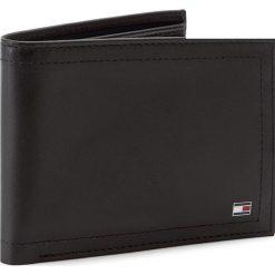 Duży Portfel Męski TOMMY HILFIGER - Harry CC And Coin Pocket AM0AM01258  002. Czarne portfele męskie TOMMY HILFIGER, ze skóry. Za 299,00 zł.