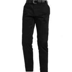 Chinosy męskie: Burton Menswear London SATEEN Spodnie materiałowe black