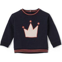 Bluza z moltonu 1 miesiąc - 3 latka. Czarne bluzy dziewczęce rozpinane marki La Redoute Collections, z bawełny, z długim rękawem, długie. Za 64,64 zł.