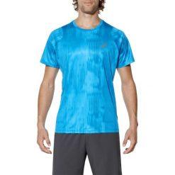 T-shirt Asics FuzeX Printed Tee 129928-2068. Niebieskie t-shirty męskie marki Asics, l, z materiału. W wyprzedaży za 119,99 zł.